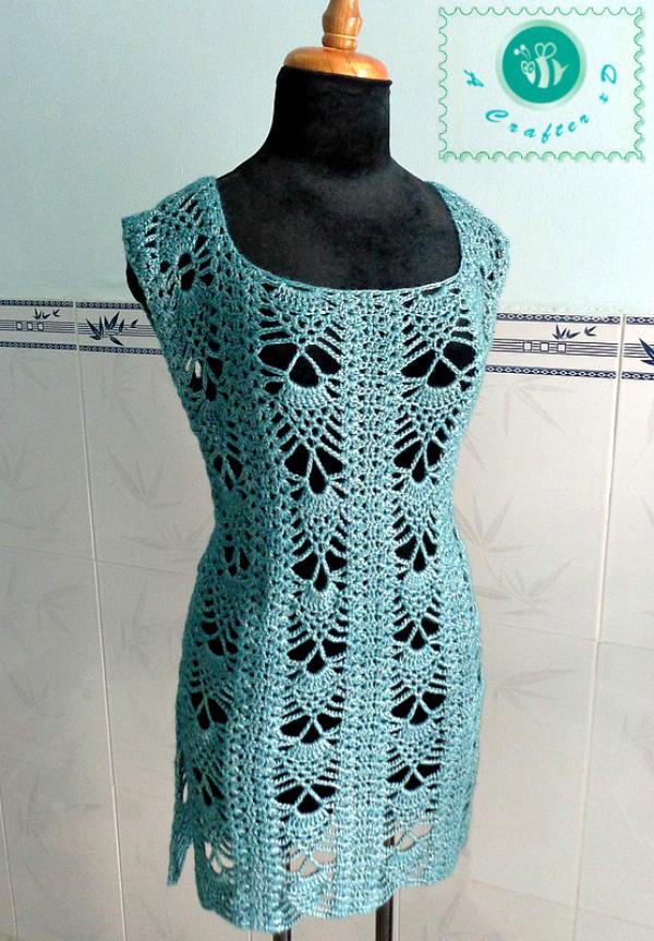 Pineapple Crochet Tunic Allfreecrochet Com