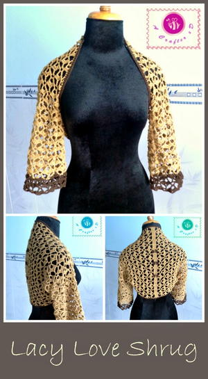 Lacy Love Crochet Shrug