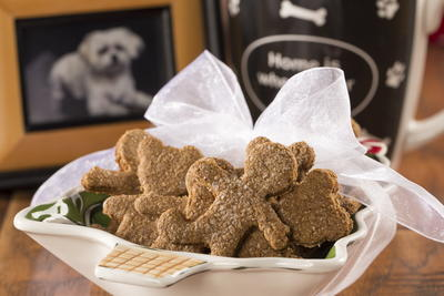 Gingerbread Doggie Biscuits