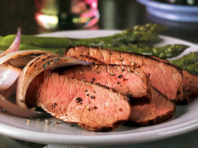 Glazed Flank Steak