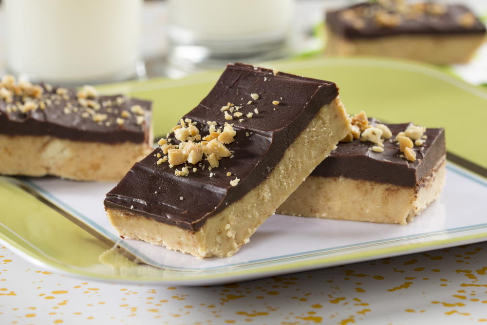 Chocolate-Peanut Bars | MrFood.com