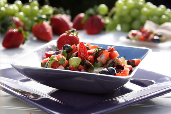 Grape Berry Salsa