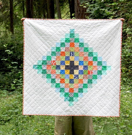 Chippewa Scrap Quilt Pattern