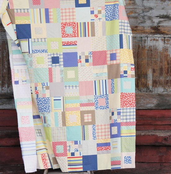 Fat Quarter Country Quilt
