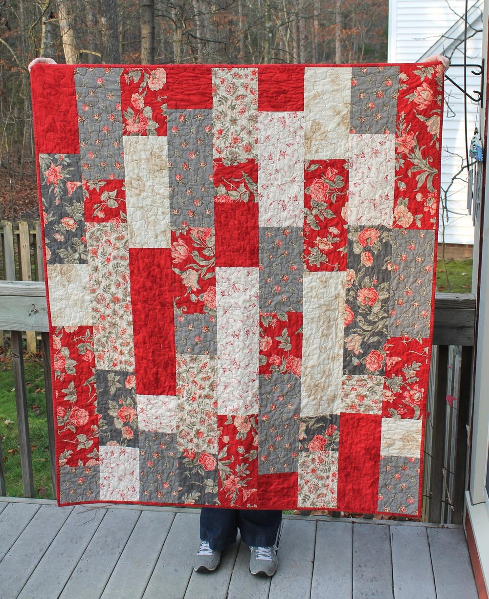 Free quilt patterns for bed size quilts and throws autos for Bed quilting designs