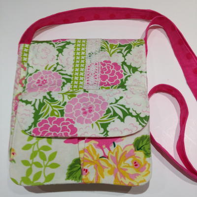 Floral Crossbody Purse