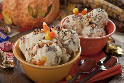 Halloween Leftover Ice Cream