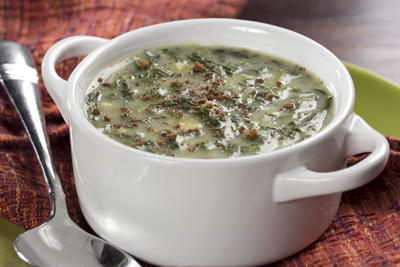 Creamy Spinach Soup