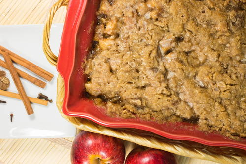 German Apple Cobbler