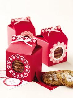 Martha Stewart Holiday Cookie Boxes