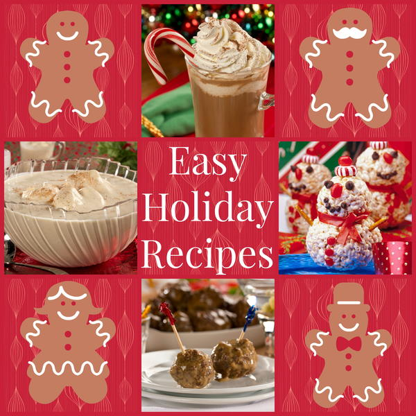 Easy Holiday Party Appetizers  Drinks