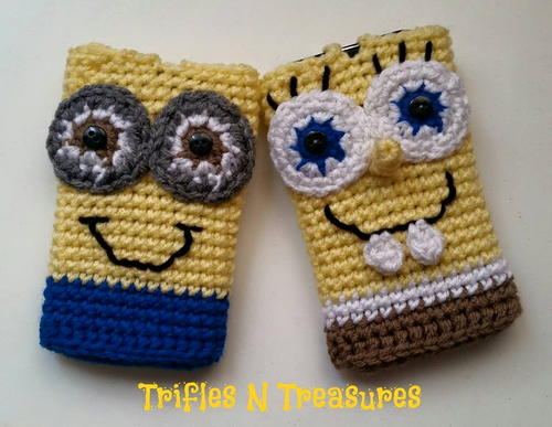 Crochet Character Cell Phone Cases Favecraftscom