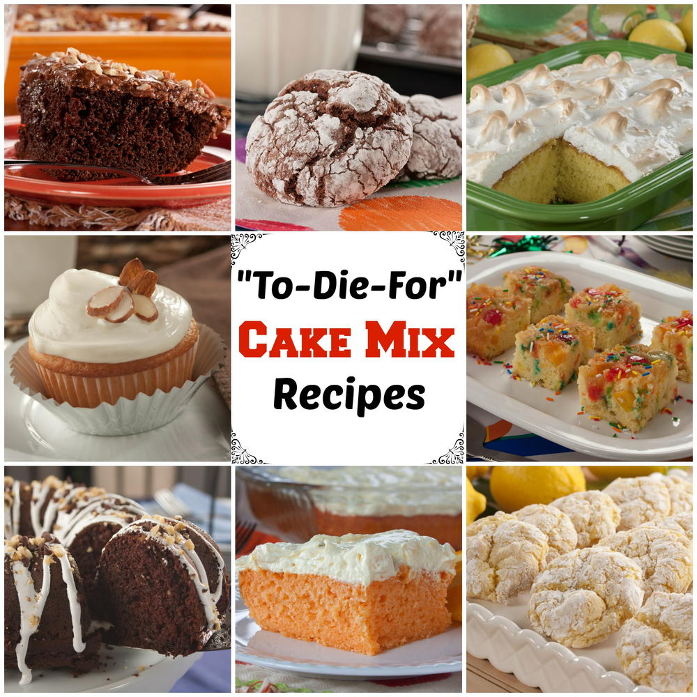 Box Cake Mix Bar Cookie Recipes