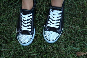 Bedazzled Sneakers