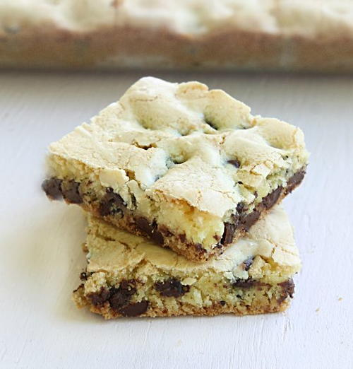 {lazy} Cake Mix Cookie Bars