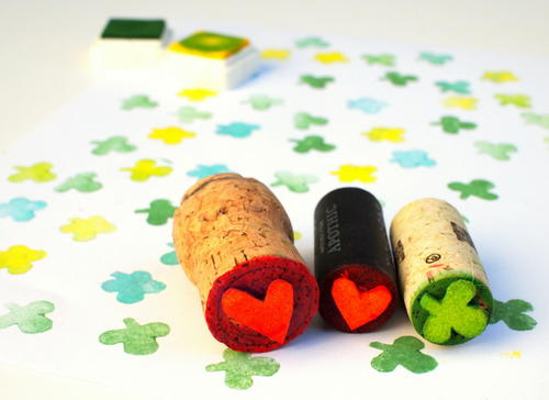 Wine Cork DIY Stamp