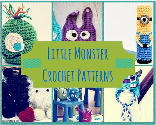 Amigurumi Monster Pattern Free Crochet : Little monster crochet patterns allfreecrochet
