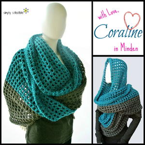 Coraline in Minden Oversized Cowl Wrap