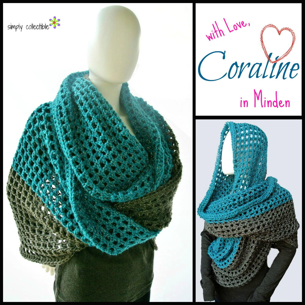 Coraline In Minden Oversized Cowl Wrap Allfreecrochet Com