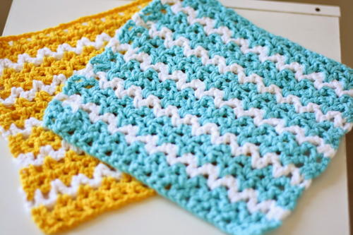 Summer Breeze Dishcloth