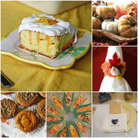 Thanksgiving Craft Ideas: 60+ Thanksgiving Recipes and Thanksgiving Decoration Ideas