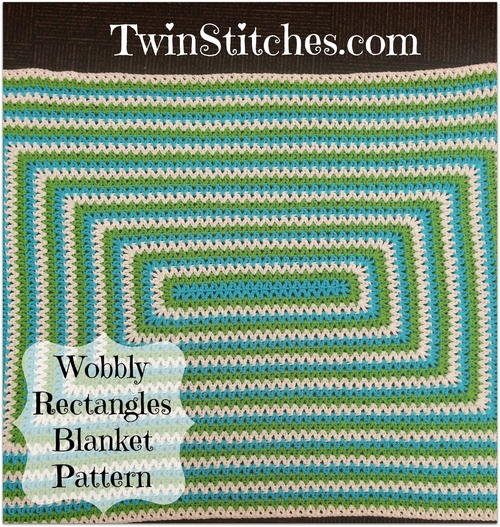 Wobbly Rectangles Blanket