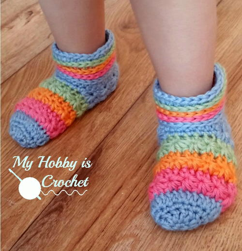 Rainbow Starlight Slippers