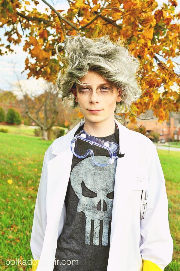 Mad Scientist DIY Halloween Costume DIYIdeaCentercom
