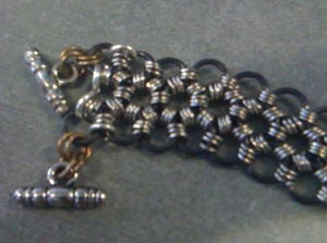 Intricate Japanese Chainmaille Pattern