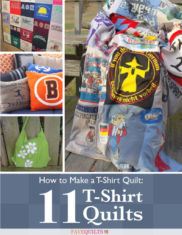 How To Make A T Shirt Quilt 11 T Shirt Quilts Favequilts