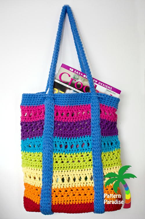 X Stitch Market Bag