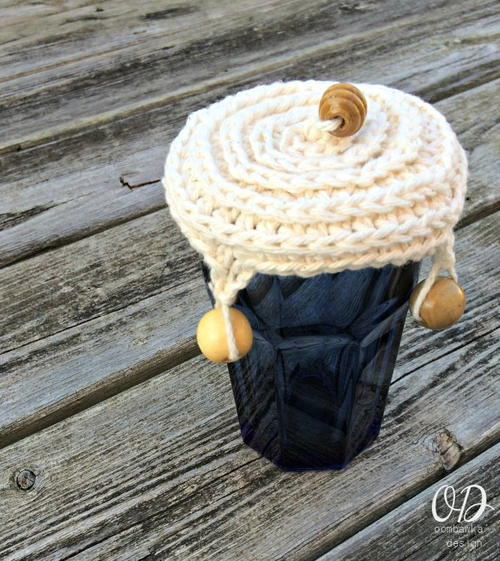 Quick and Easy Crochet Cup Cover