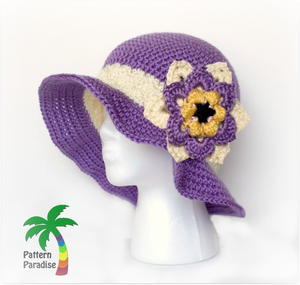 Summer Joy Crochet Hat