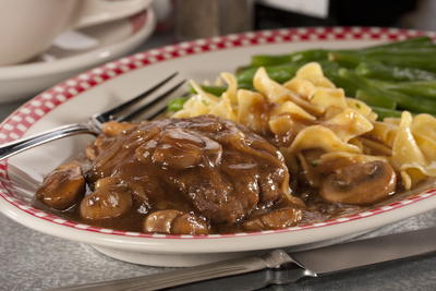 No Fuss Salisbury Steak