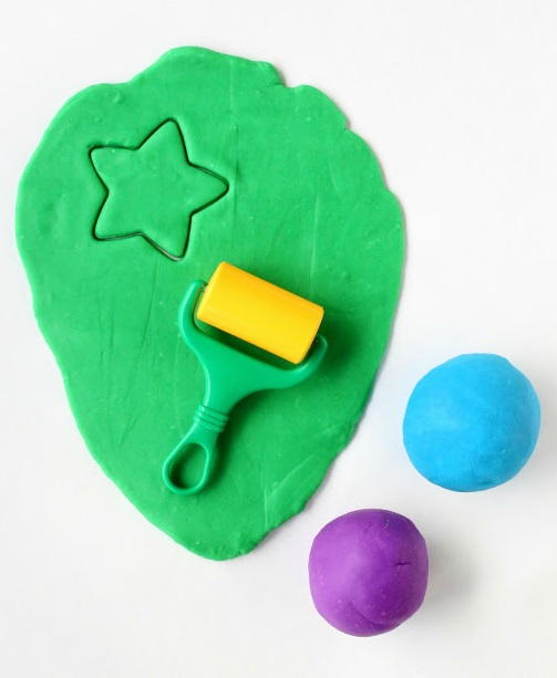 Microwaveable Play Dough Recipe