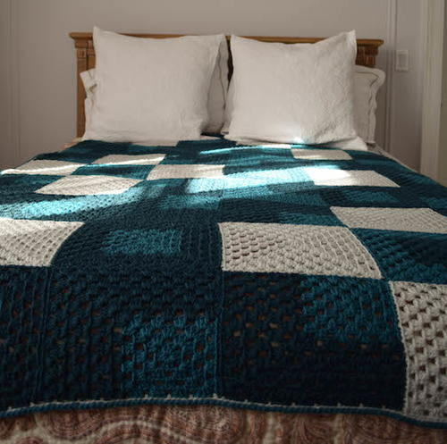 Crochet Patterns For Queen Size Bed
