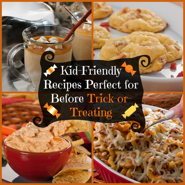 Kid-Friendly Recipes Perfect for Before Trick or Treating