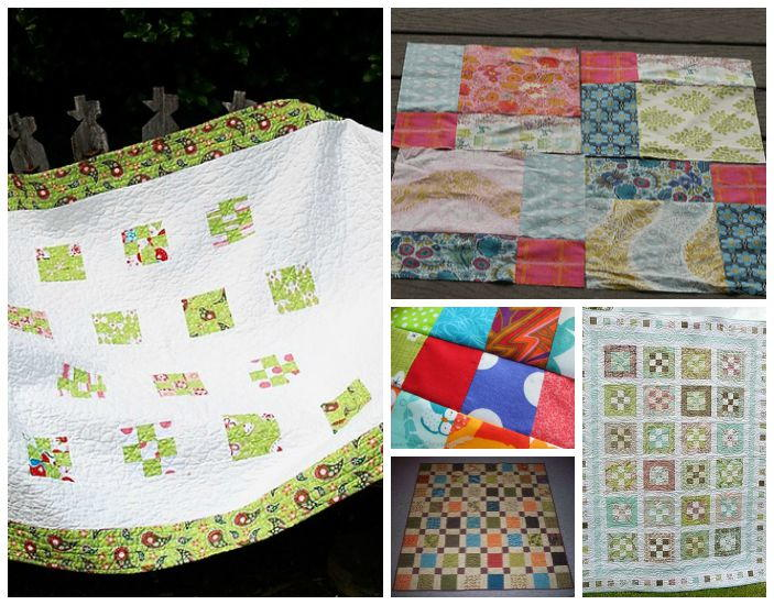 Free Nine Patch Quilt Patterns Other Nine Patch Designs