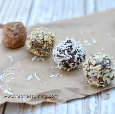 Irresistible Dark Chocolate Truffles
