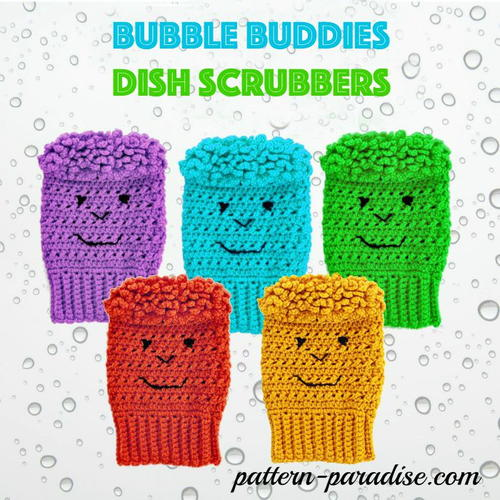 Bubble Buddies Scrubbies