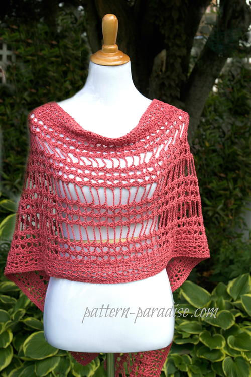 X Stitch Summer Wrap