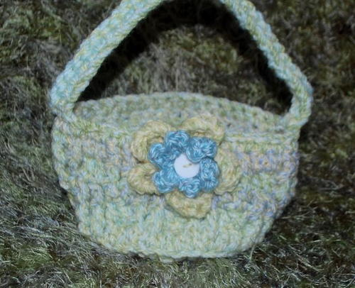 Chunky Little Crochet Basket Pattern