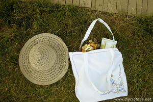 Delicate Vintage-Inspired Tote