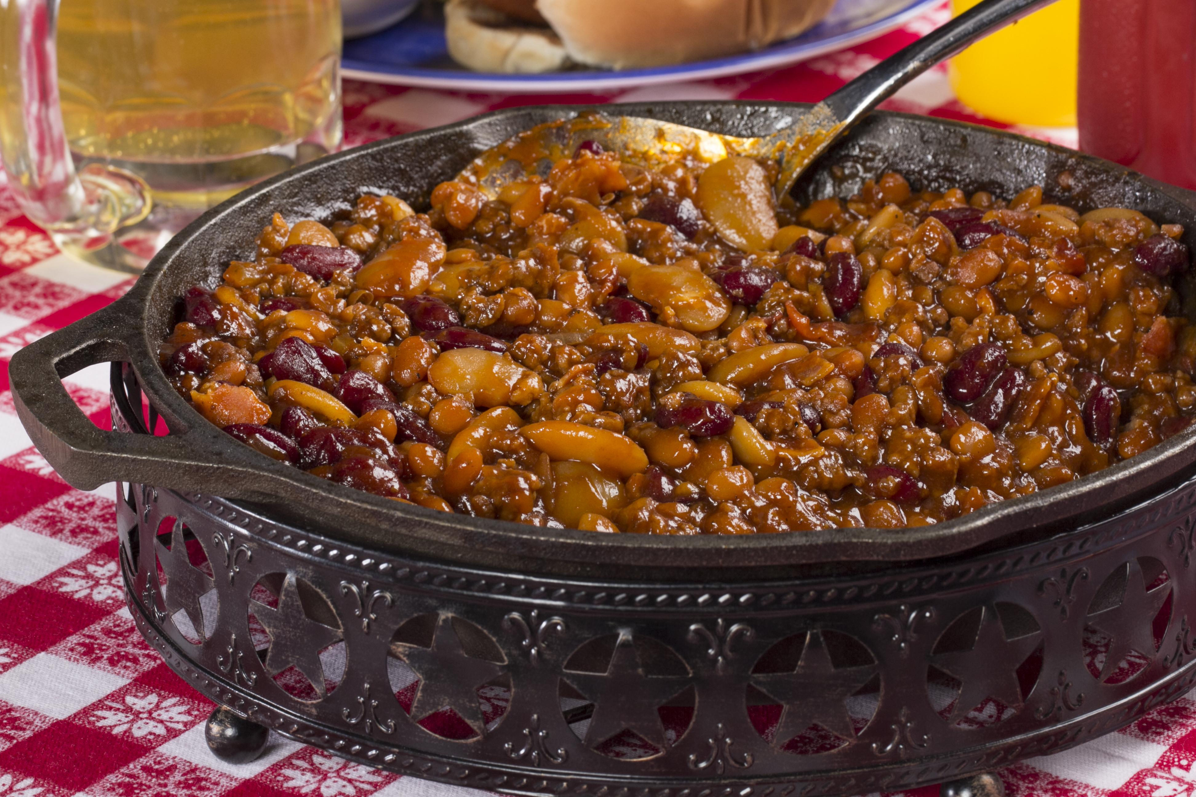 Hillbilly Baked Beans Hobo Beans Mrfood Com