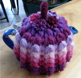 Puffy Rib Tea Cosy