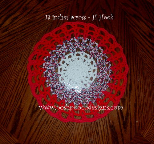 Round Cotton Placemat