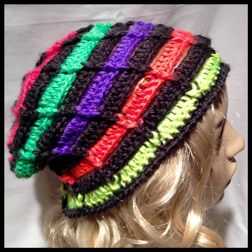 Ribbed Ladder Beanie