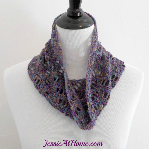 Lucy Chevron Cowl or Scarf