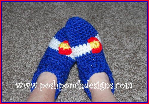 Colorado Crochet Slippers