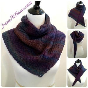 Askew Crochet Wrap Pattern